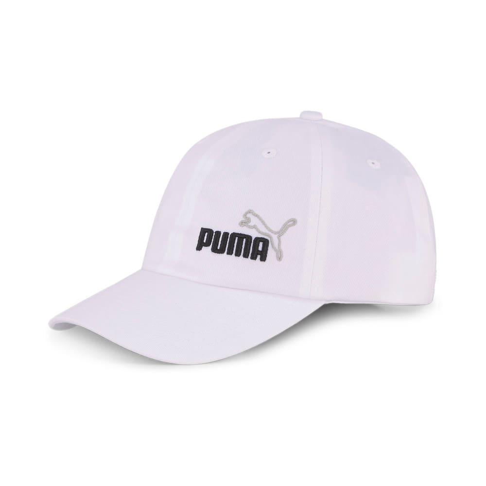 Изображение Puma Кепка Ess Cap II #1: Puma White-NO 1