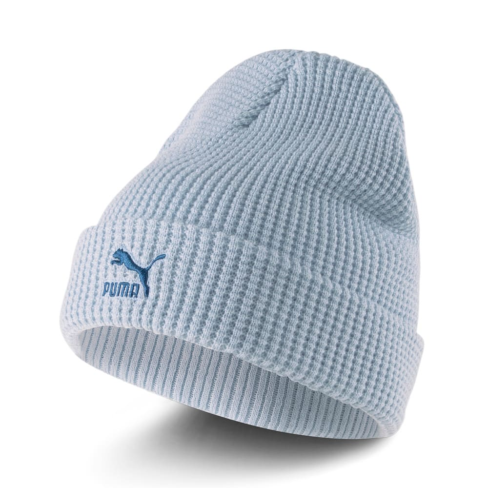 Изображение Puma Шапка ARCHIVE Mid Fit Beanie #1: Blue Fog-intense blue Logo