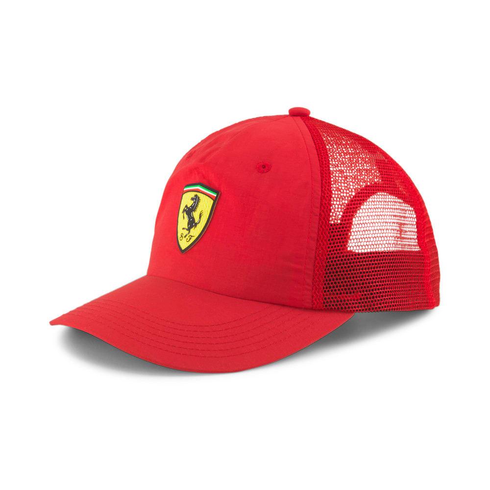 Изображение Puma Кепка Scuderia Ferrari Trucker Cap #1: rosso corsa