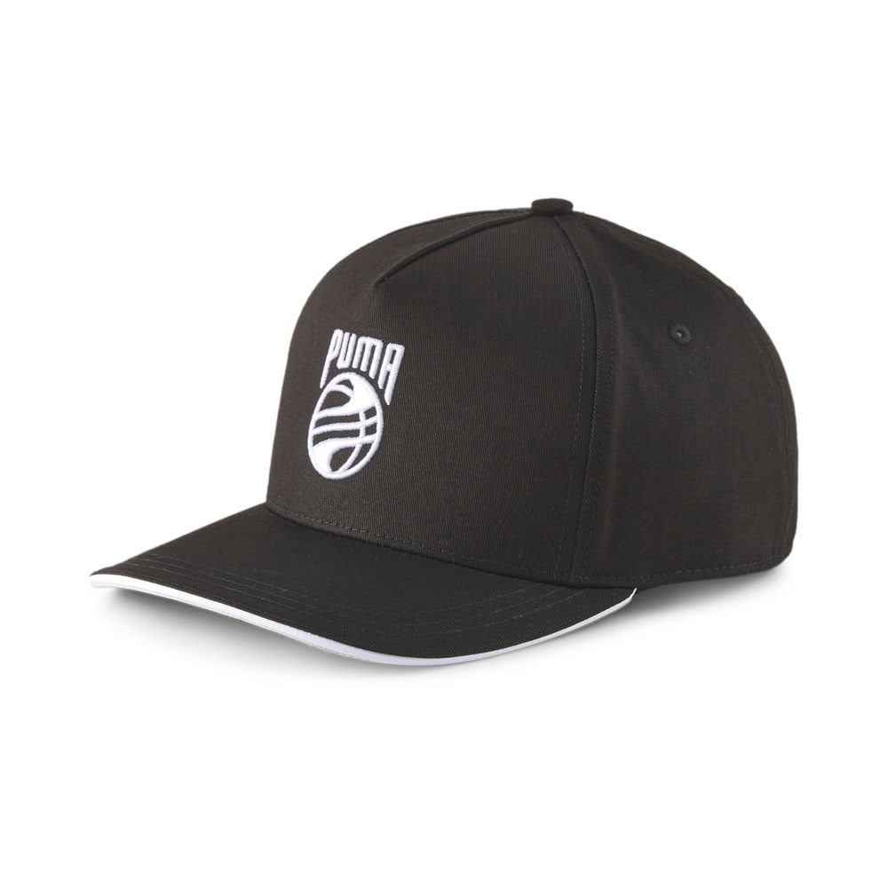 Изображение Puma Кепка Low Curve Basketball Cap #1: Puma Black