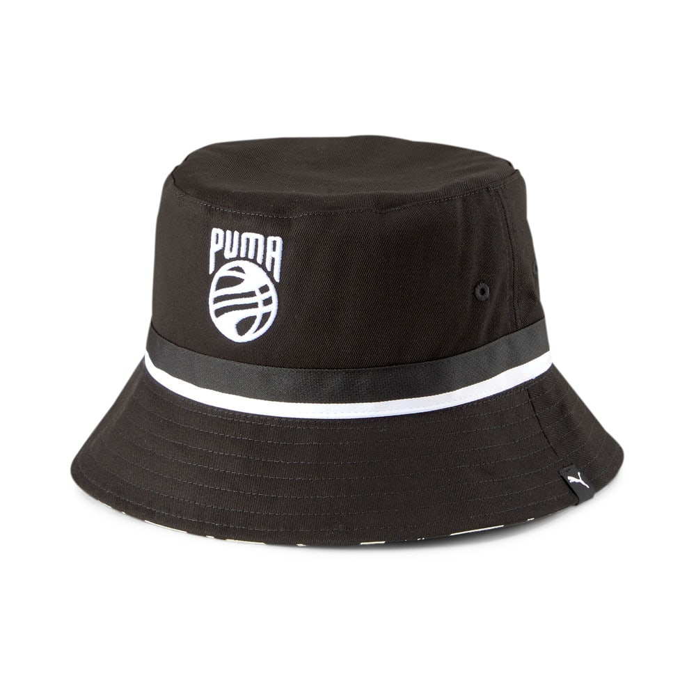Изображение Puma Панама Basketball Bucket Hat #1: Puma Black