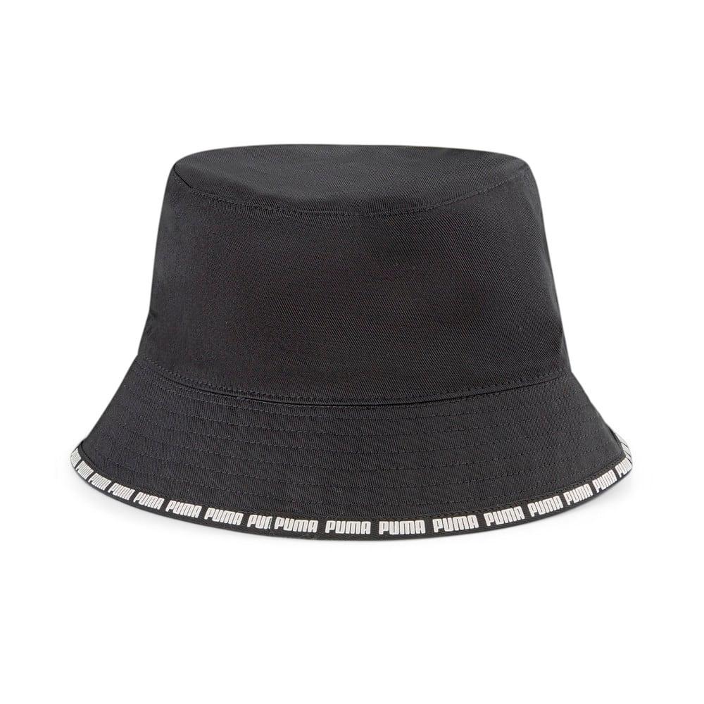 Изображение Puma Панама Reversible Bucket Hat #2: Puma Black-Gray Violet-AOP