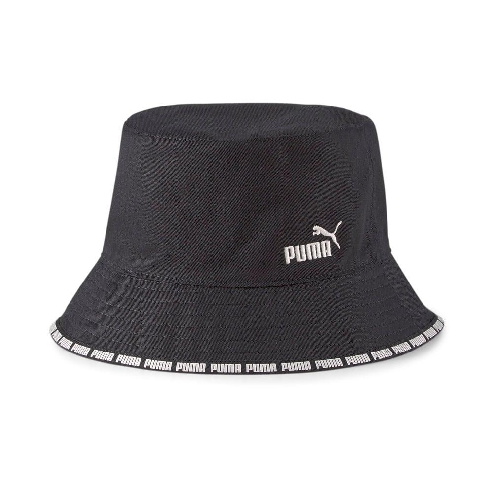 Изображение Puma Панама Reversible Bucket Hat #1: Puma Black-Gray Violet-AOP