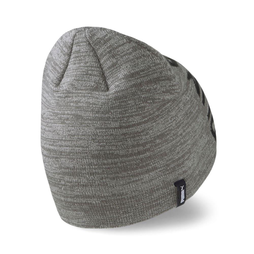 Зображення Puma Шапка Essentials Classic Cuffless Beanie #2: Medium Gray Heather-Puma Black