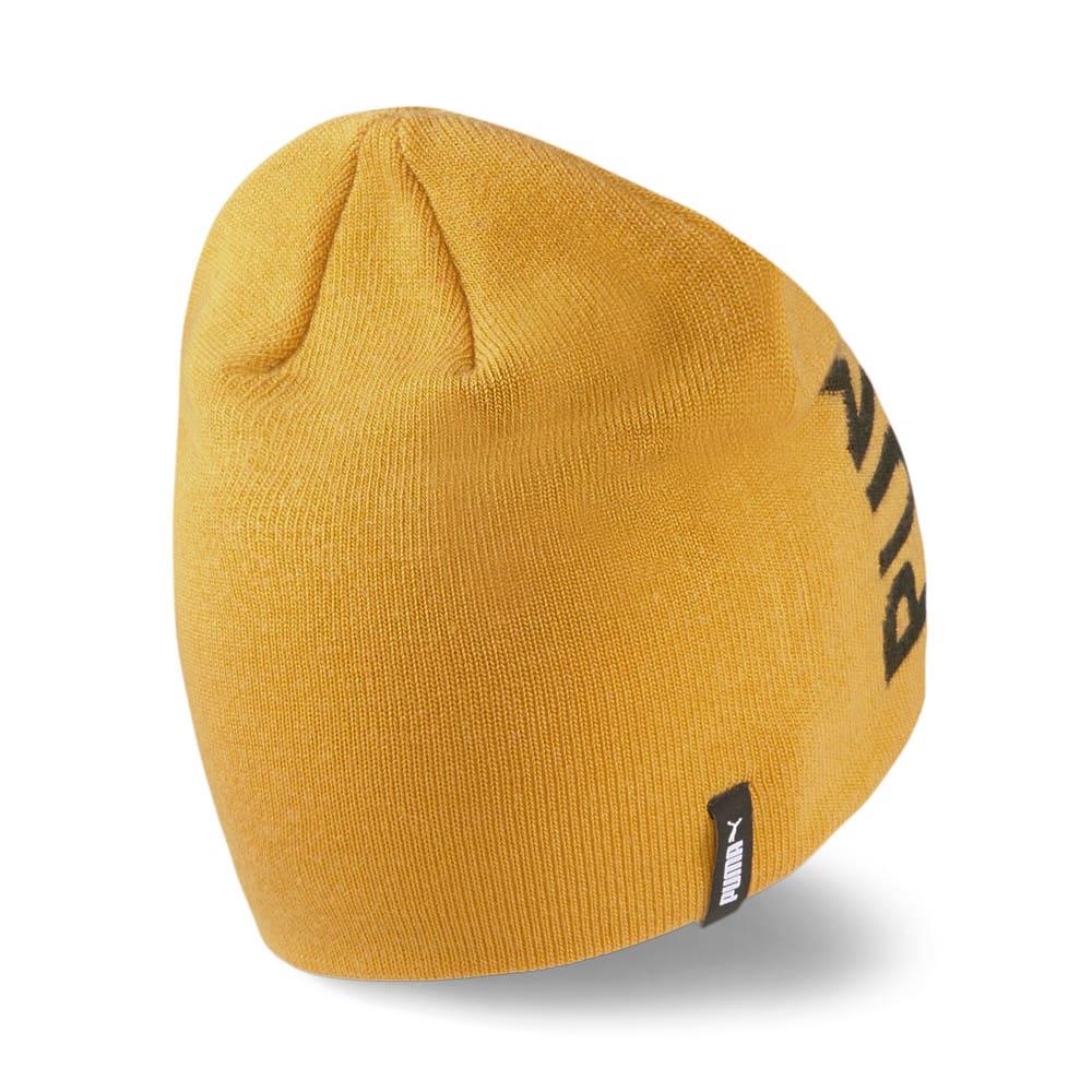 Изображение Puma Шапка Essentials Classic Cuffless Beanie #2: Mineral Yellow-Puma Black