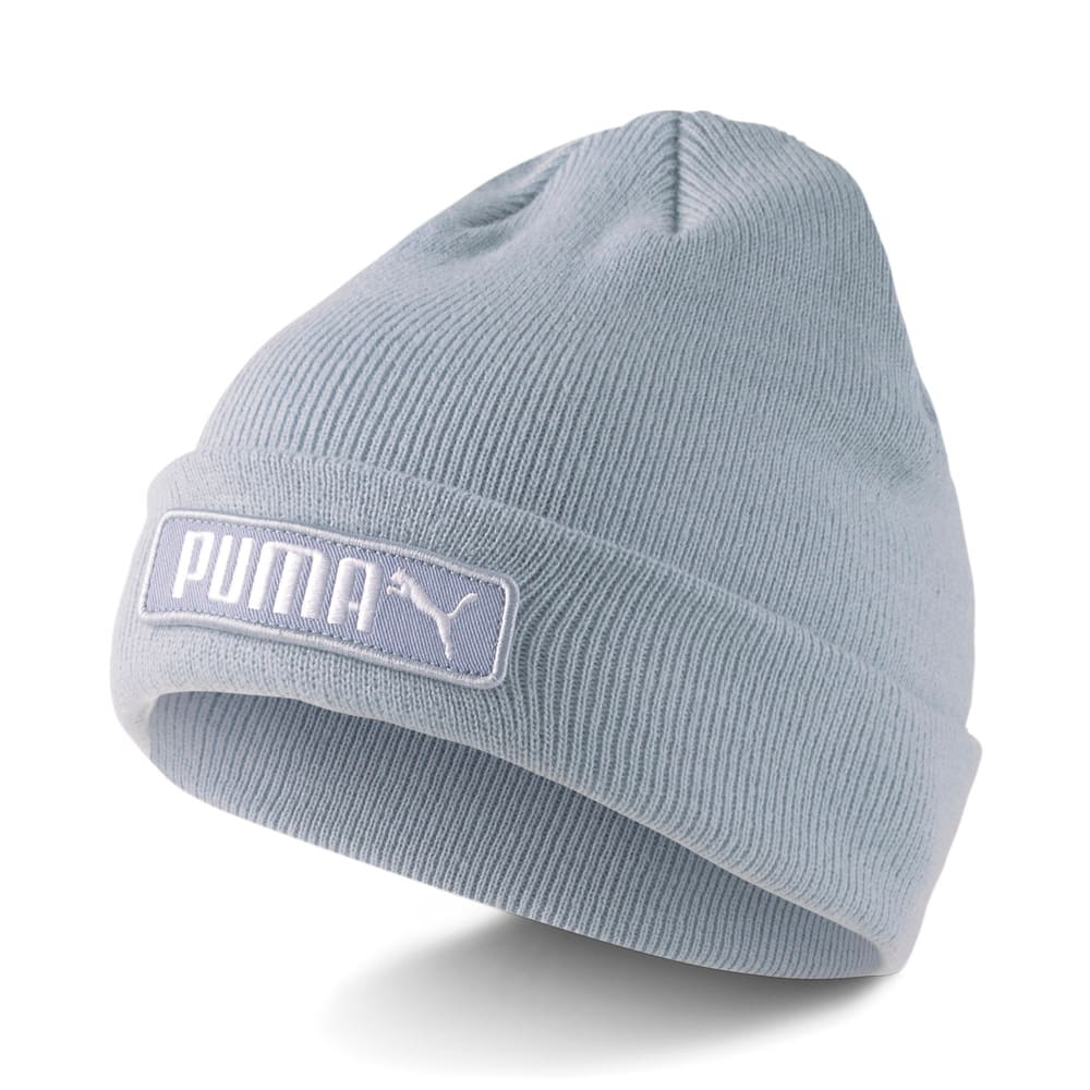 Изображение Puma Шапка Classics Cuff Beanie #1: Blue Fog