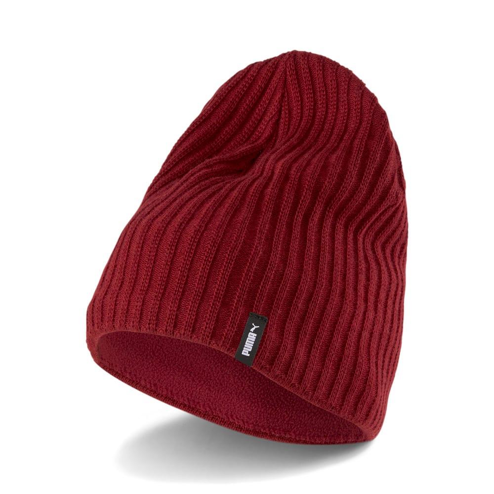 Изображение Puma Шапка Slouchy Cuffless Beanie #1: Intense Red