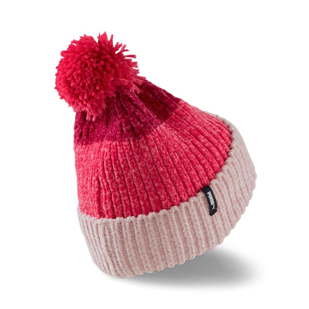 Зображення Puma Шапка Pom Pom Beanie Women's Hat #2: Lotus-Paradise Pink-Persian Red