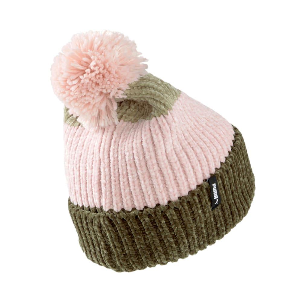 Зображення Puma Шапка Pom Pom Beanie Women's Hat #2: Grape Leaf-Lotus-Spray Green
