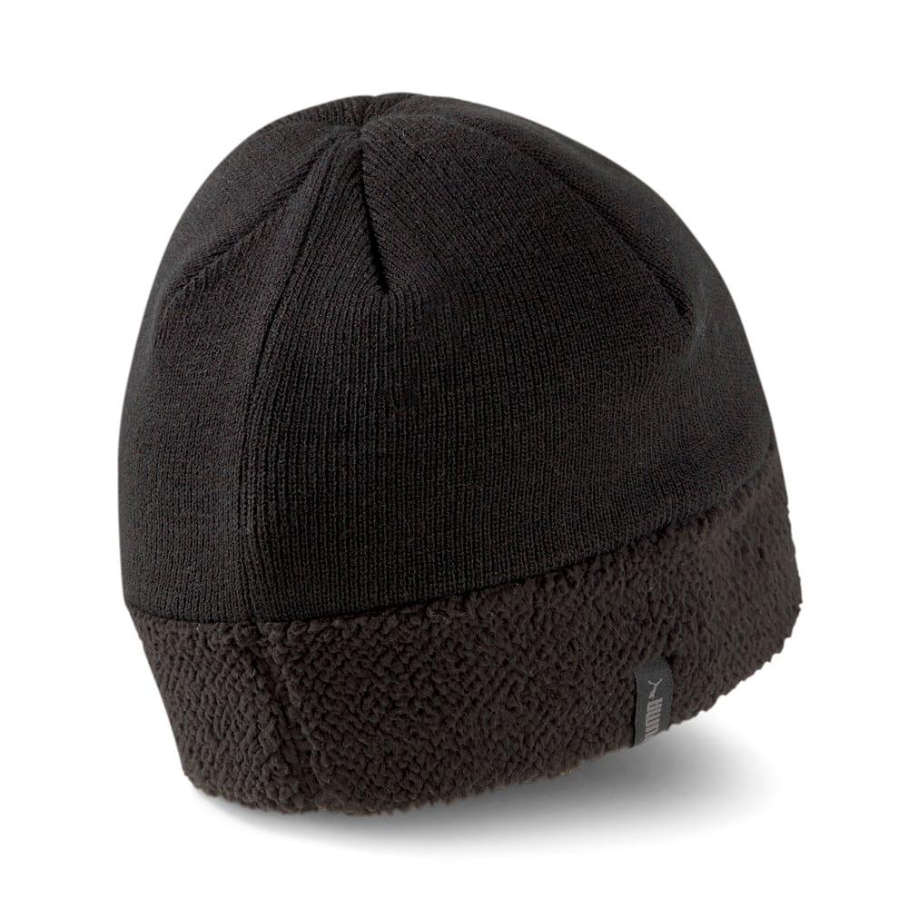 Зображення Puma Шапка Classics Cuff Sherpa Beanie #2: Puma Black