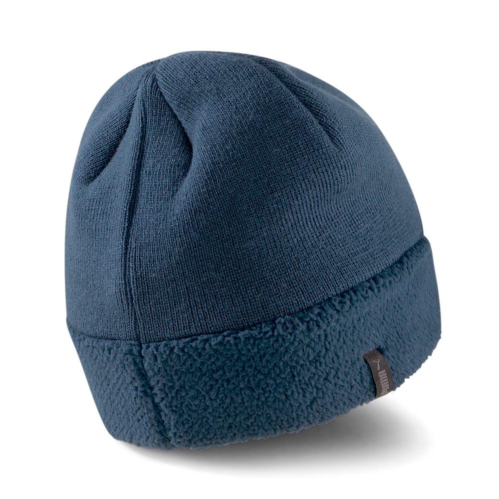 Изображение Puma Шапка Classics Cuff Sherpa Beanie #2: Intense Blue