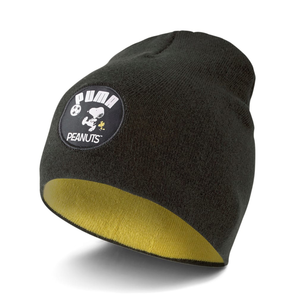 Зображення Puma Дитяча шапка PUMA x PEANUTS Classic Youth Beanie #1: Puma Black