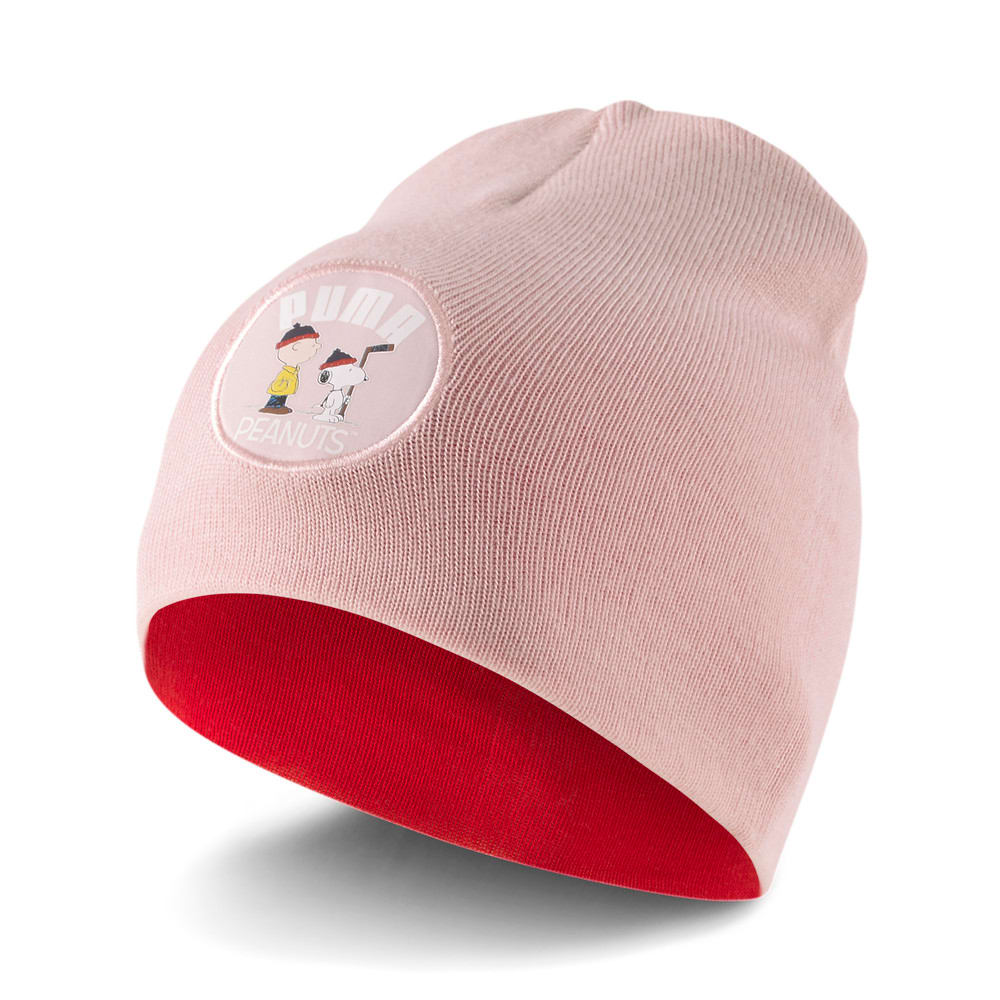 Изображение Puma Детская шапка PUMA x PEANUTS Classic Youth Beanie #1: Lotus