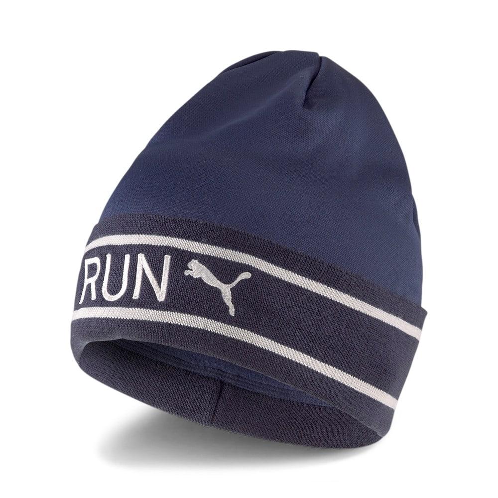 Зображення Puma Шапка Classic Running Cuff Beanie #1: Peacoat-Gray Violet