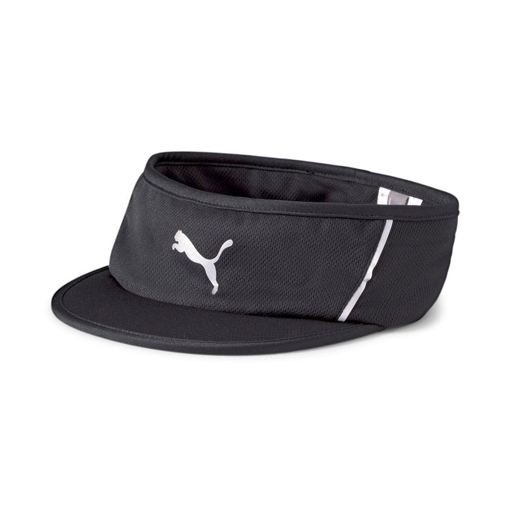 Зображення Puma Пов'язка на голову Visor Running Headband #1: Puma Black