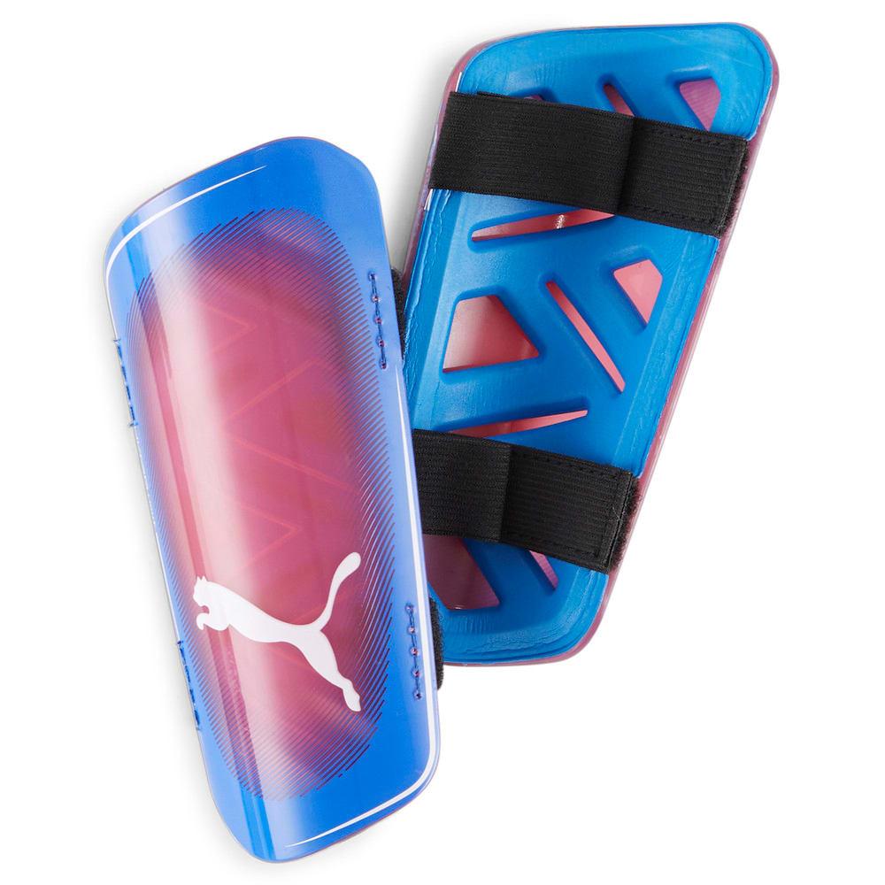 Зображення Puma Футбольні щитки ULTRA Light Strap Football Shin Guards #1: Bluemazing-Sunblaze-Puma White