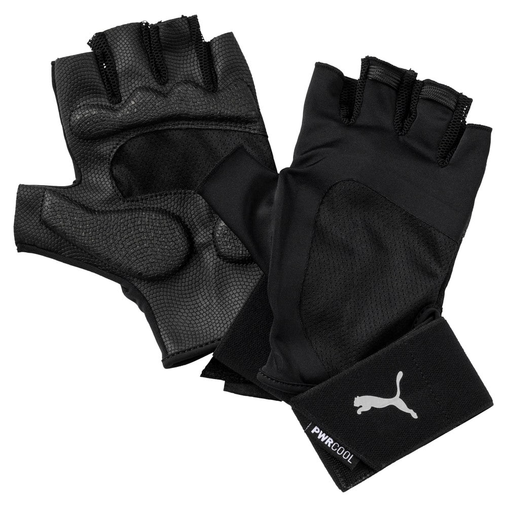 Зображення Puma Рукавички TR Ess Gloves Premium #1: Puma Black-Gray Violet