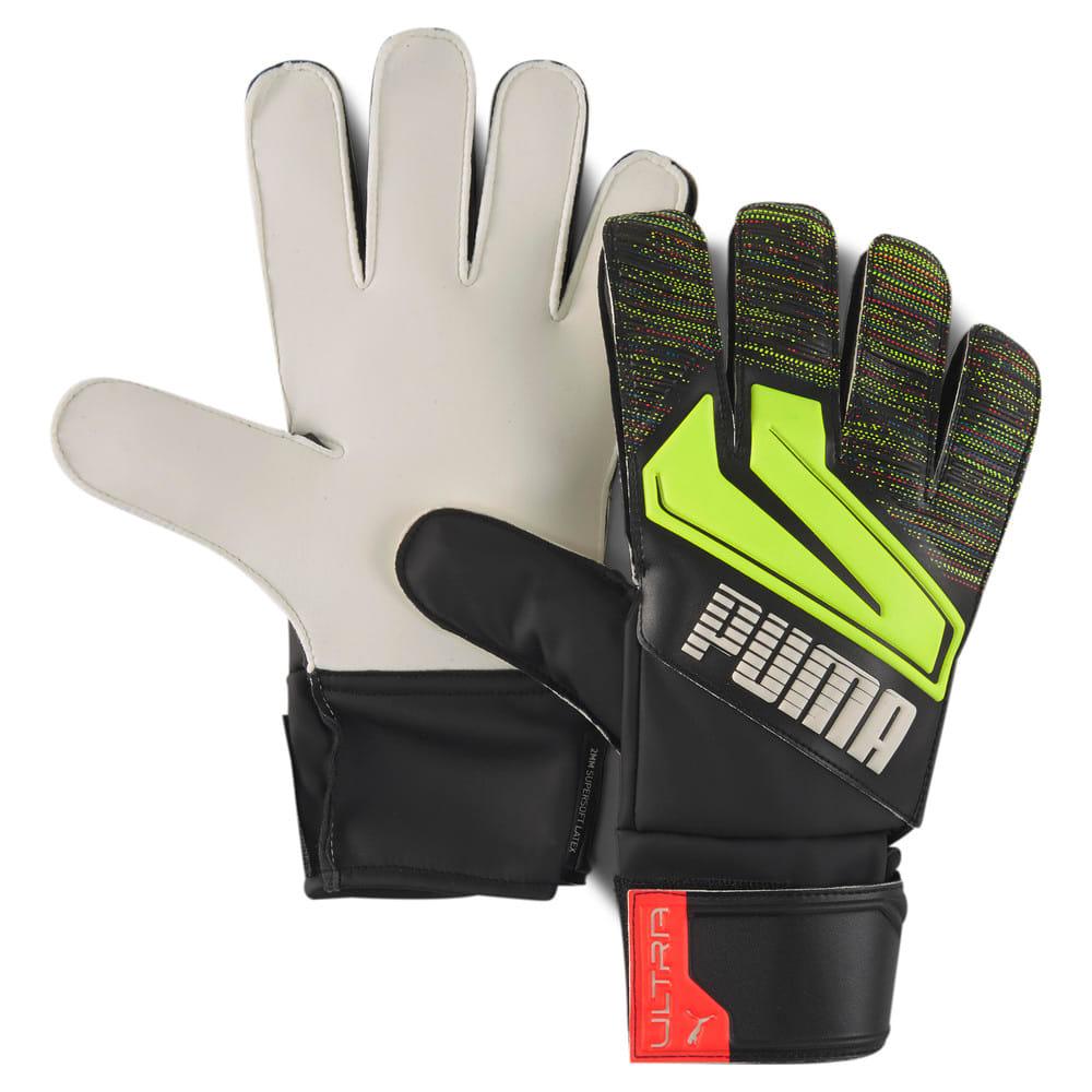 Зображення Puma Воротарські рукавички PUMA ULTRA Grip 4 RC #1: Puma Black-Yellow Alert