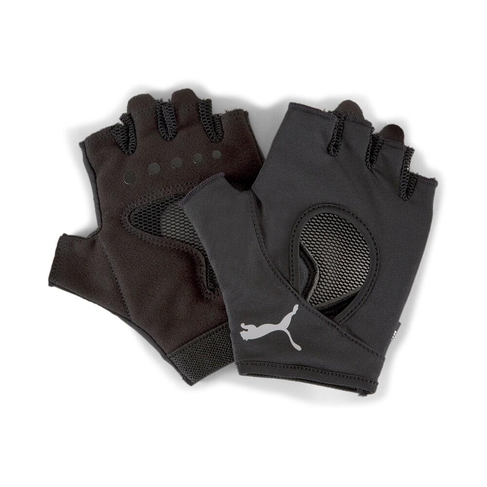 Изображение Puma Перчатки Gym Women's Training Gloves #1: Puma Black