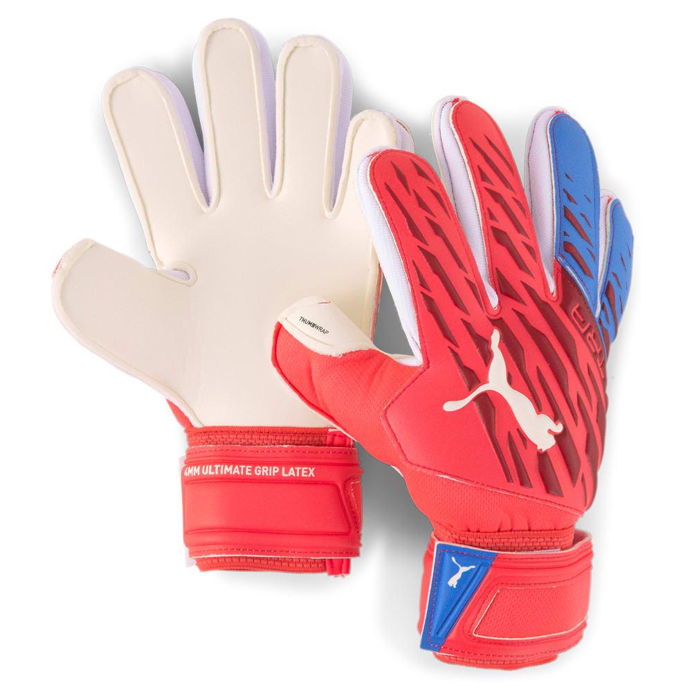 Изображение Puma Детские вратарские перчатки ULTRA Grip 1 Regular Cut Youth Goalkeeper Gloves #1