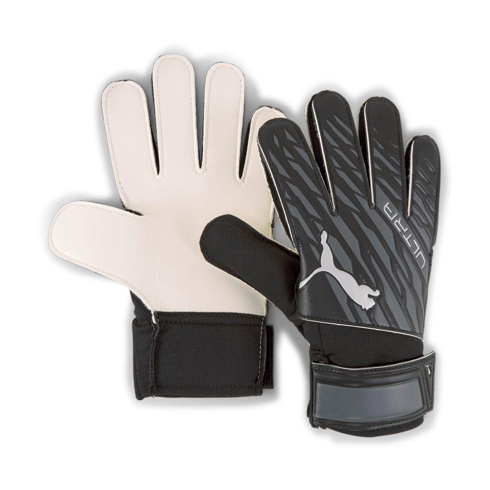 Зображення Puma Воротарські рукавички ULTRA Grip 4 RC Goalkeeper Gloves #1: Puma Black-Asphalt