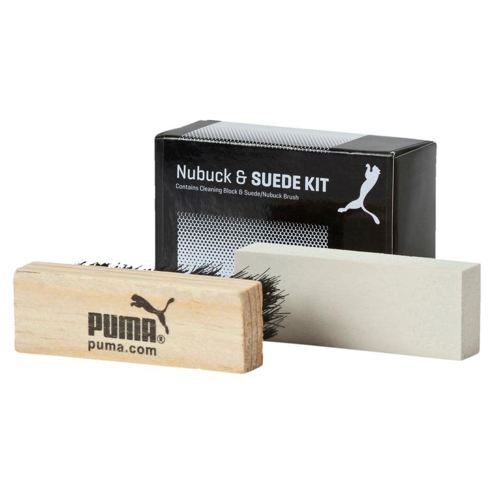 Изображение Puma Набор для чистки нубука и замши PUMA Shoe Care Block & Brush #1