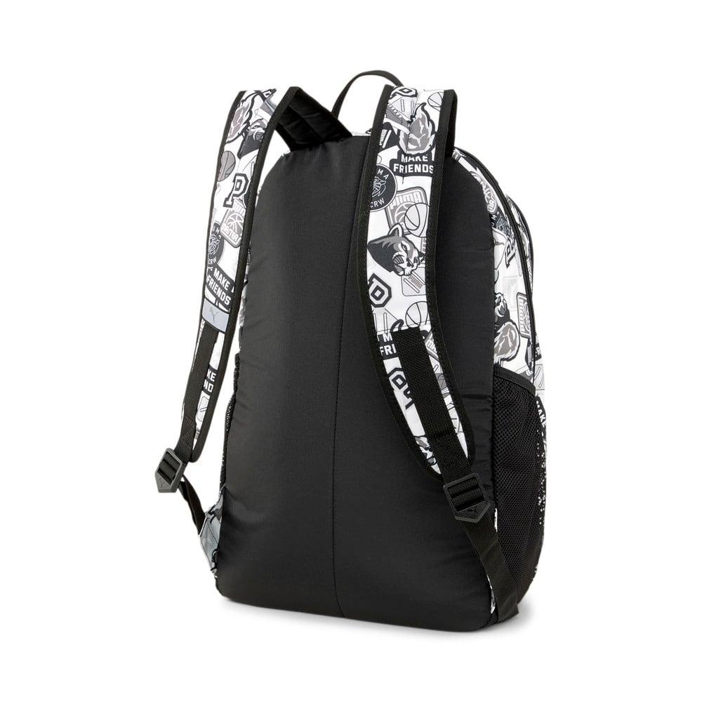 Зображення Puma Рюкзак PUMA Academy Backpack #2: Puma White-Puma Black-Archive AOP