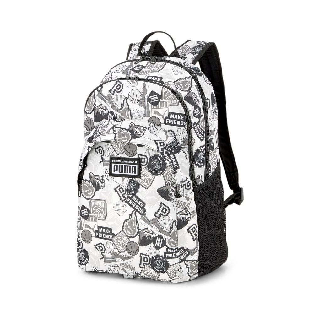 Зображення Puma Рюкзак PUMA Academy Backpack #1: Puma White-Puma Black-Archive AOP