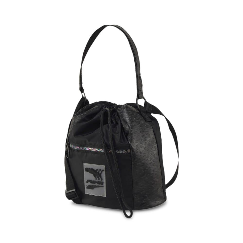 Image PUMA Bolsa Saco Bucket Prime Time Feminina #1