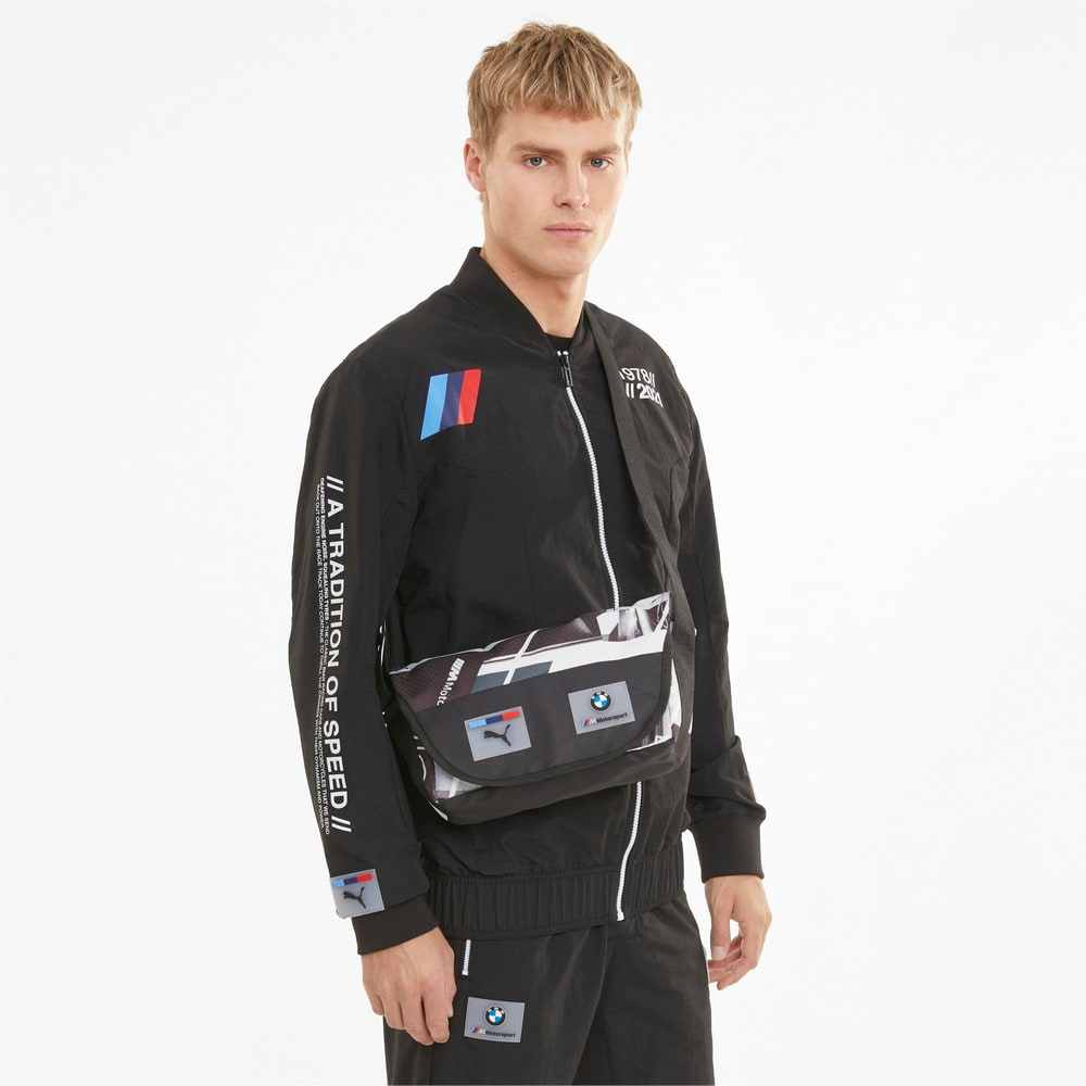 Изображение Puma Сумка BMW M Motorsport Street Mini Messenger Bag #2