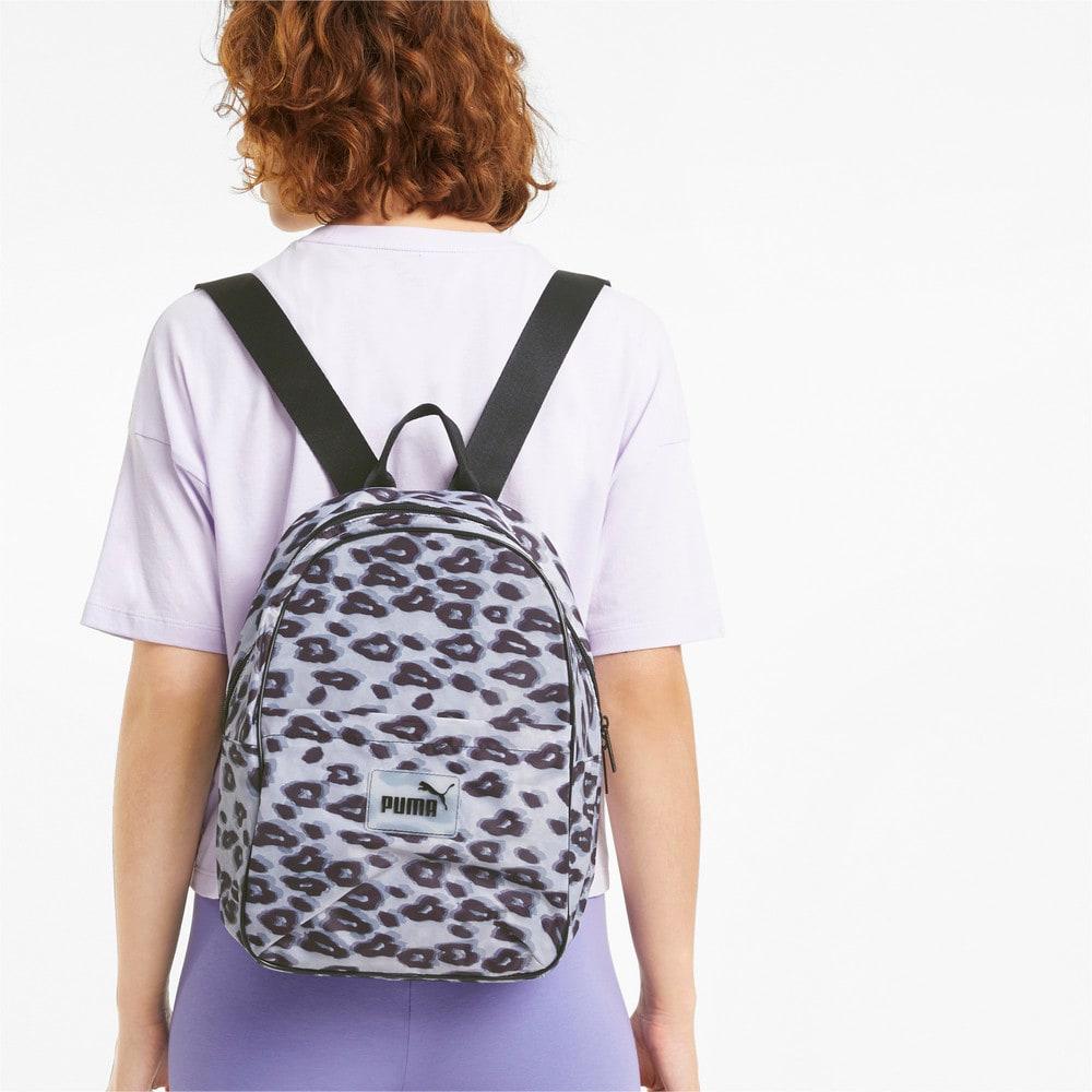 Изображение Puma Рюкзак Pop Women's Backpack #2: Puma Black-animal graphic