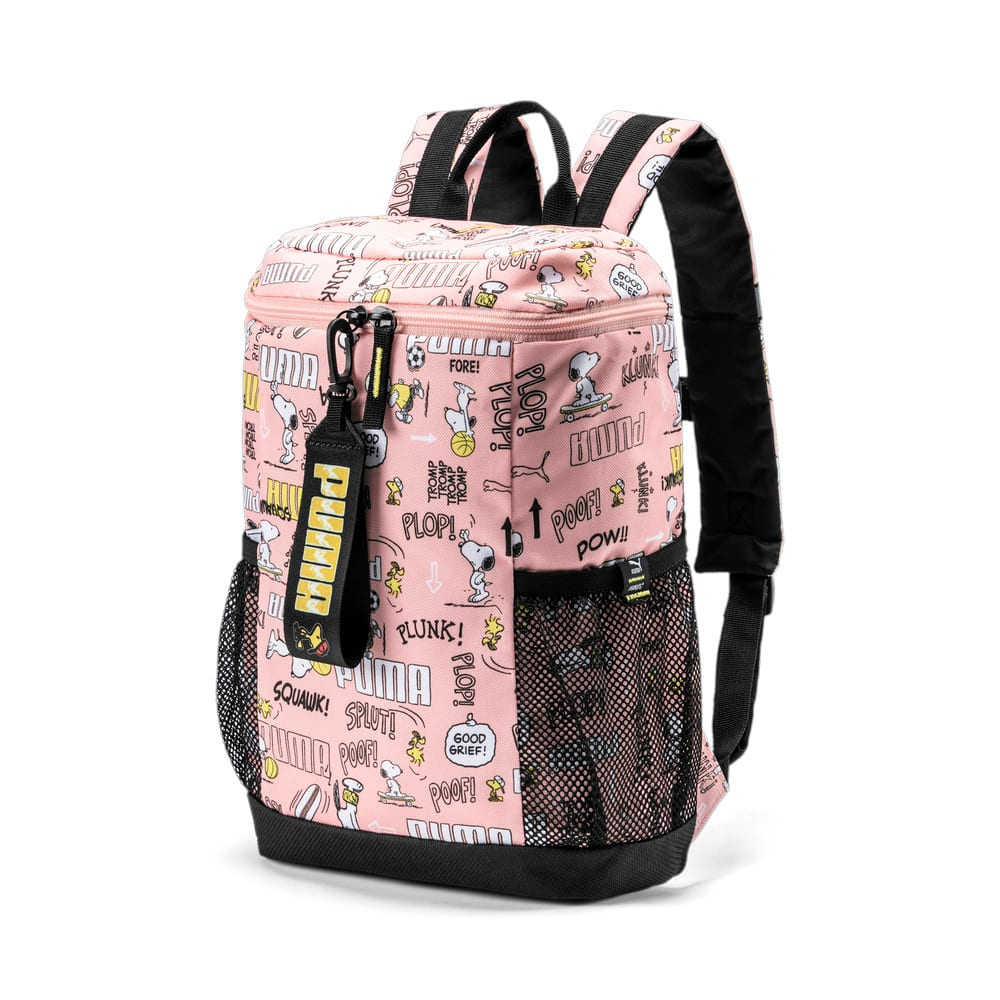 Изображение Puma Детский рюкзак PUMA x PEANUTS Youth Backpack #1