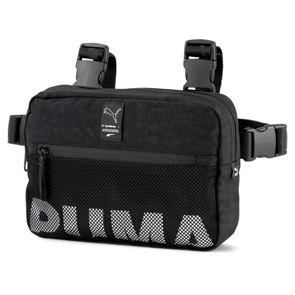 Изображение Puma Сумка EvoPLUS Chest Bag #1: Puma Black