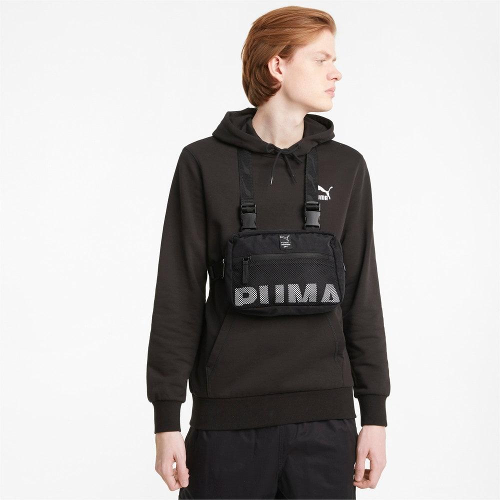 Изображение Puma Сумка EvoPLUS Chest Bag #2: Puma Black
