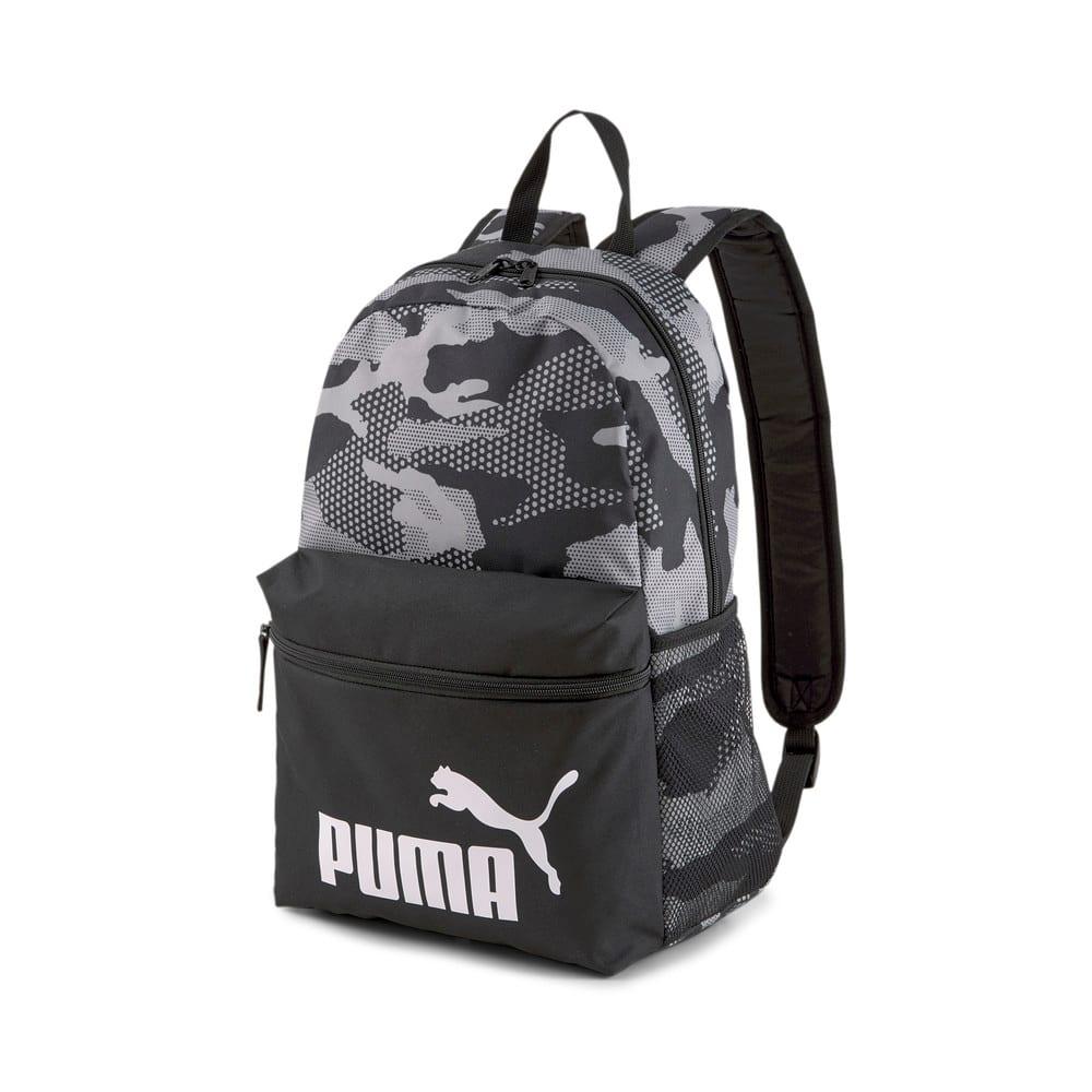 Изображение Puma Рюкзак Phase Printed Backpack #1: Puma Black-Camo AOP