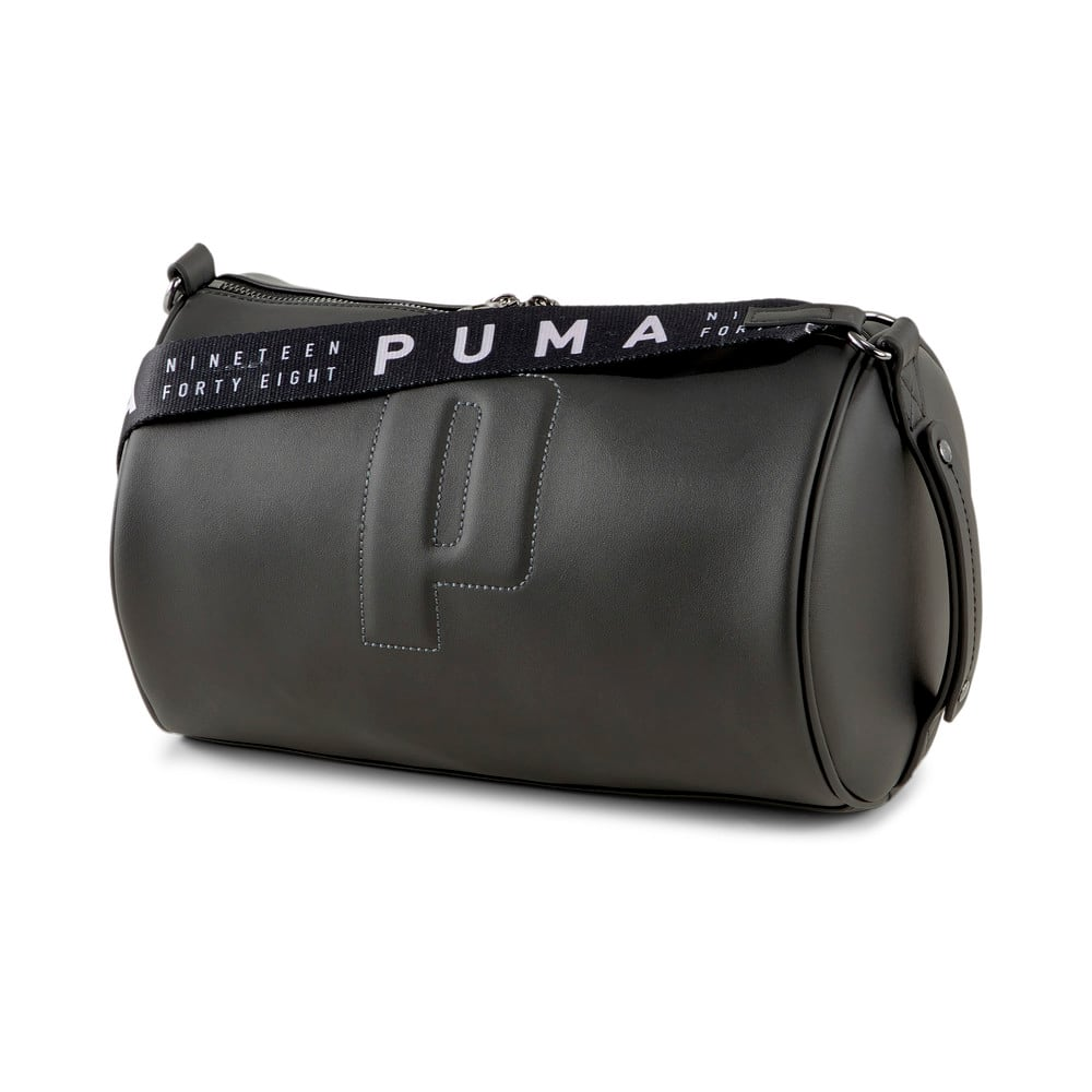 Изображение Puma Сумка Sense Women's Barrel Bag #1: Puma Black
