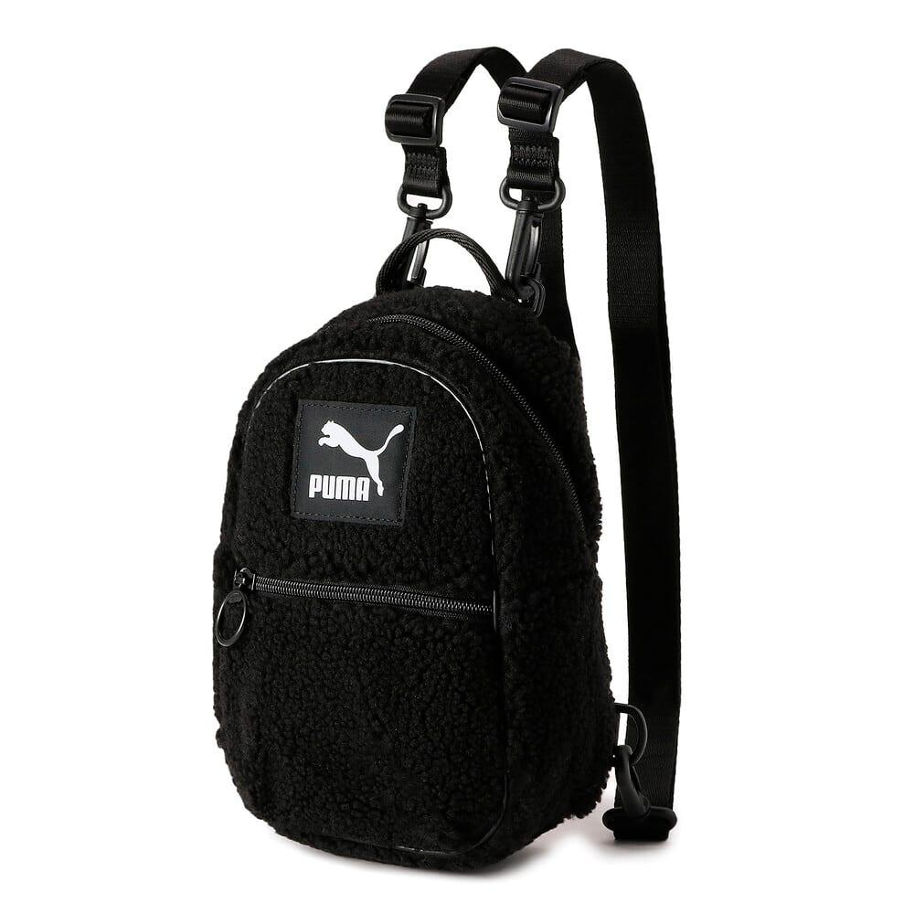 Изображение Puma Рюкзак Sherpa Minime Women's Backpack #1: Puma Black