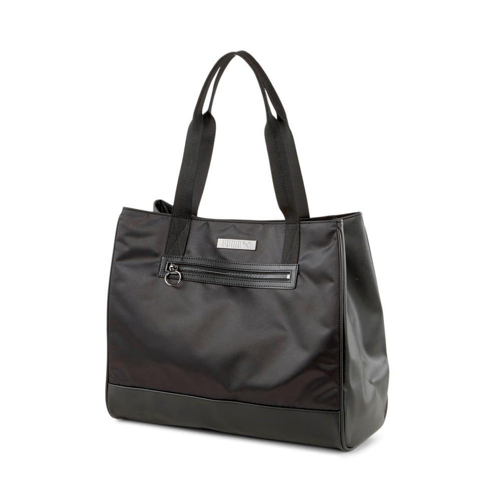 Изображение Puma Сумка Premium Large Women's Shopper #1: Puma Black
