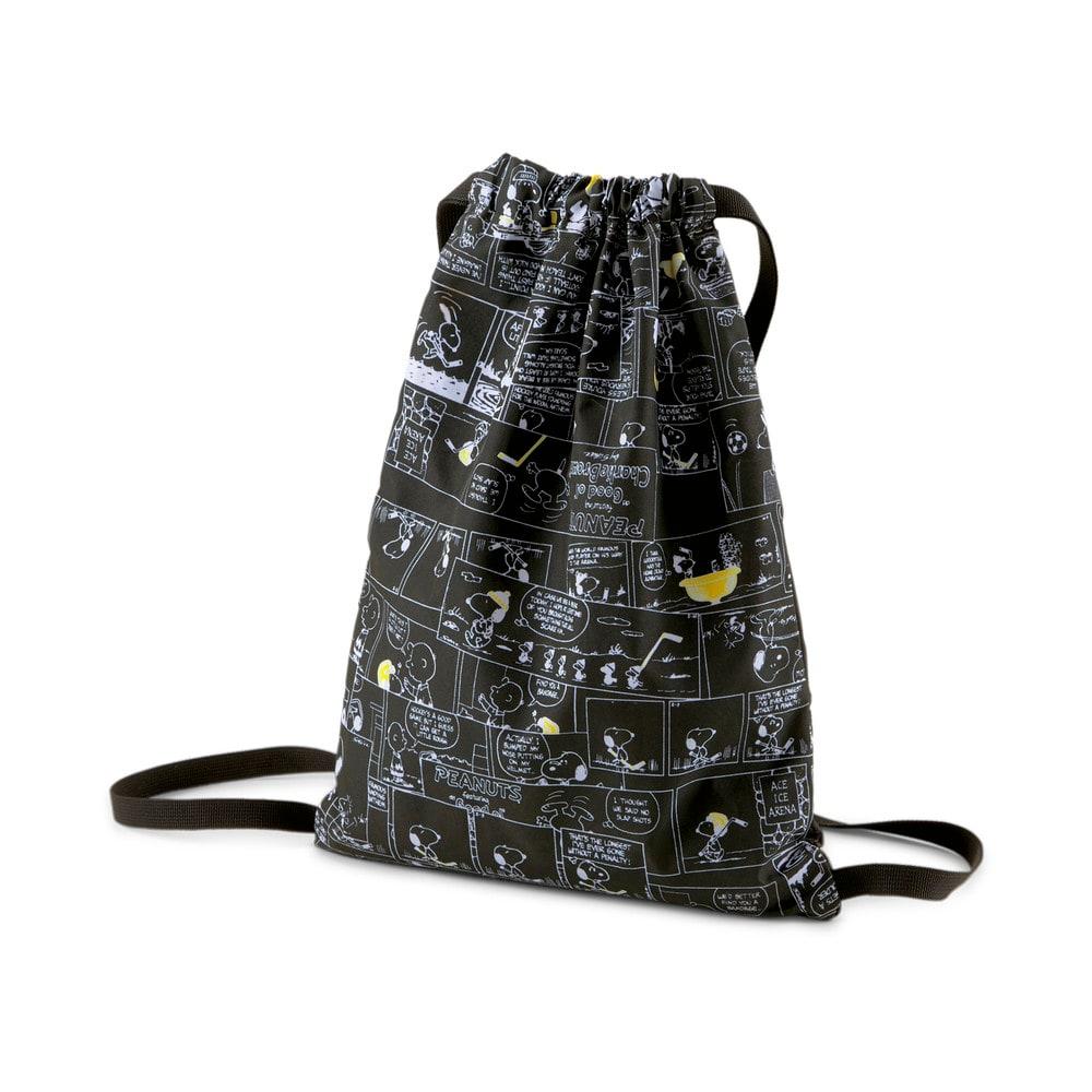 Зображення Puma Дитячий рюкзак PUMA x PEANUTS Youth Gym Sack #2: Puma Black