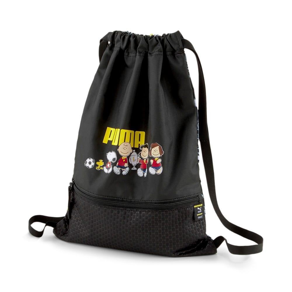 Зображення Puma Дитячий рюкзак PUMA x PEANUTS Youth Gym Sack #1: Puma Black