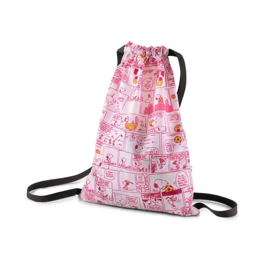 Зображення Puma Дитячий рюкзак PUMA x PEANUTS Youth Gym Sack #2: Lotus