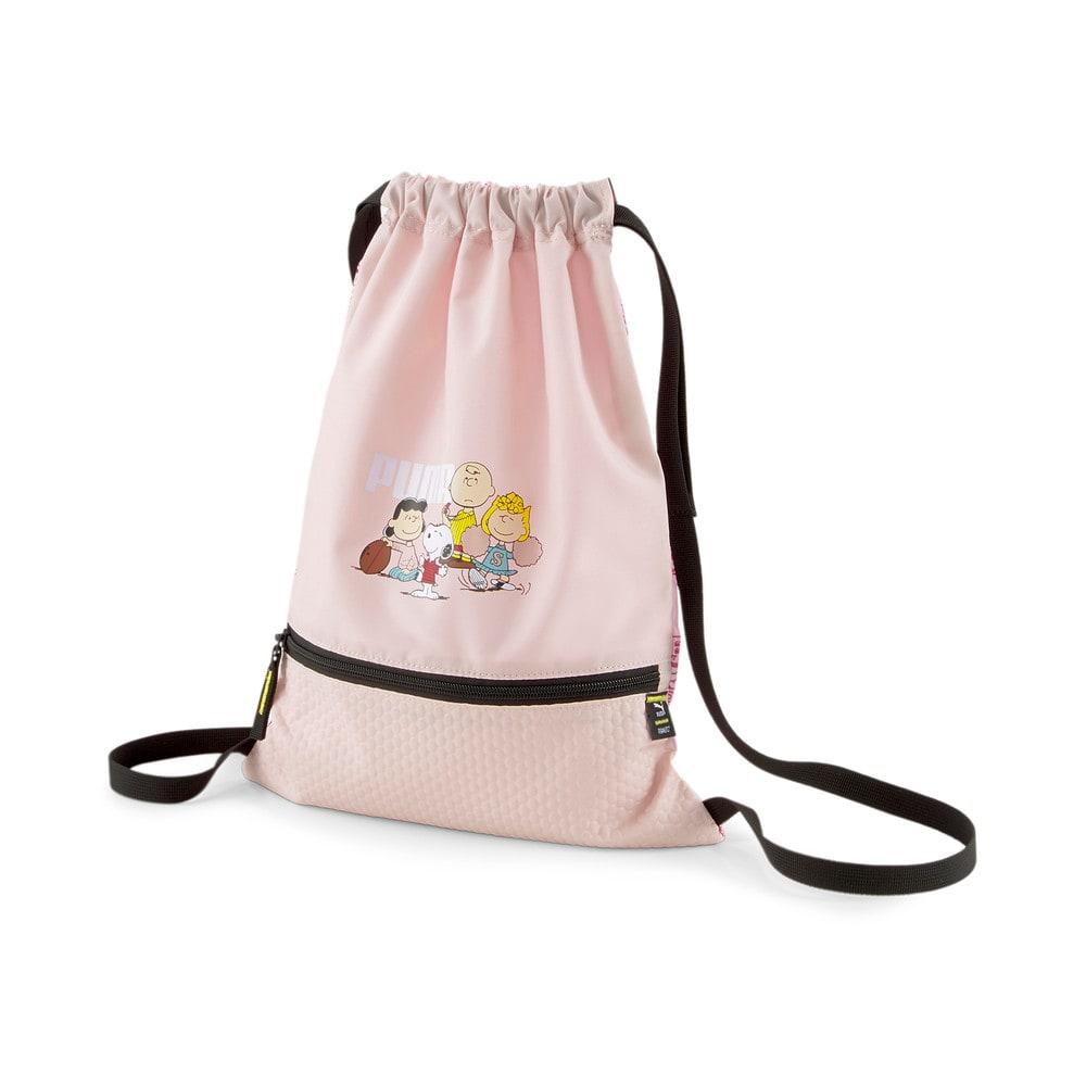 Зображення Puma Дитячий рюкзак PUMA x PEANUTS Youth Gym Sack #1: Lotus