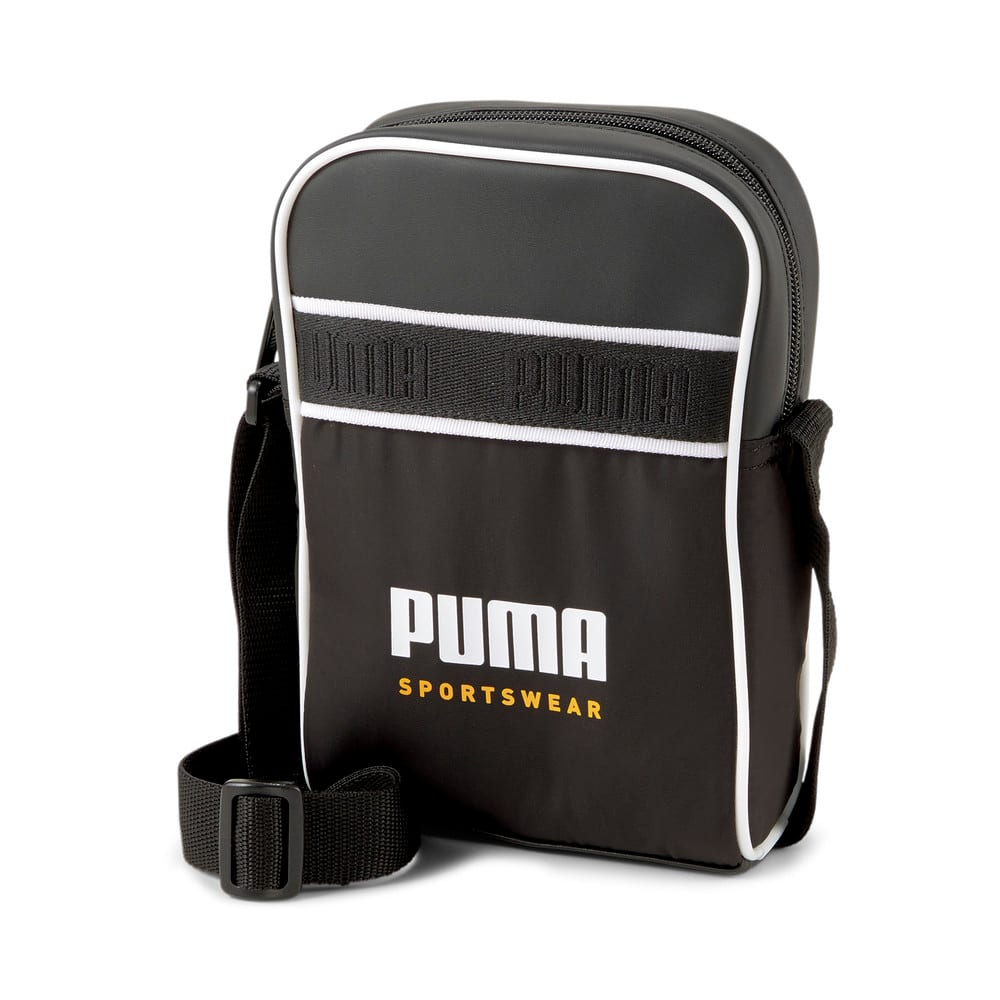 Изображение Puma Сумка Campus Compact Portable Bag #1: Puma Black