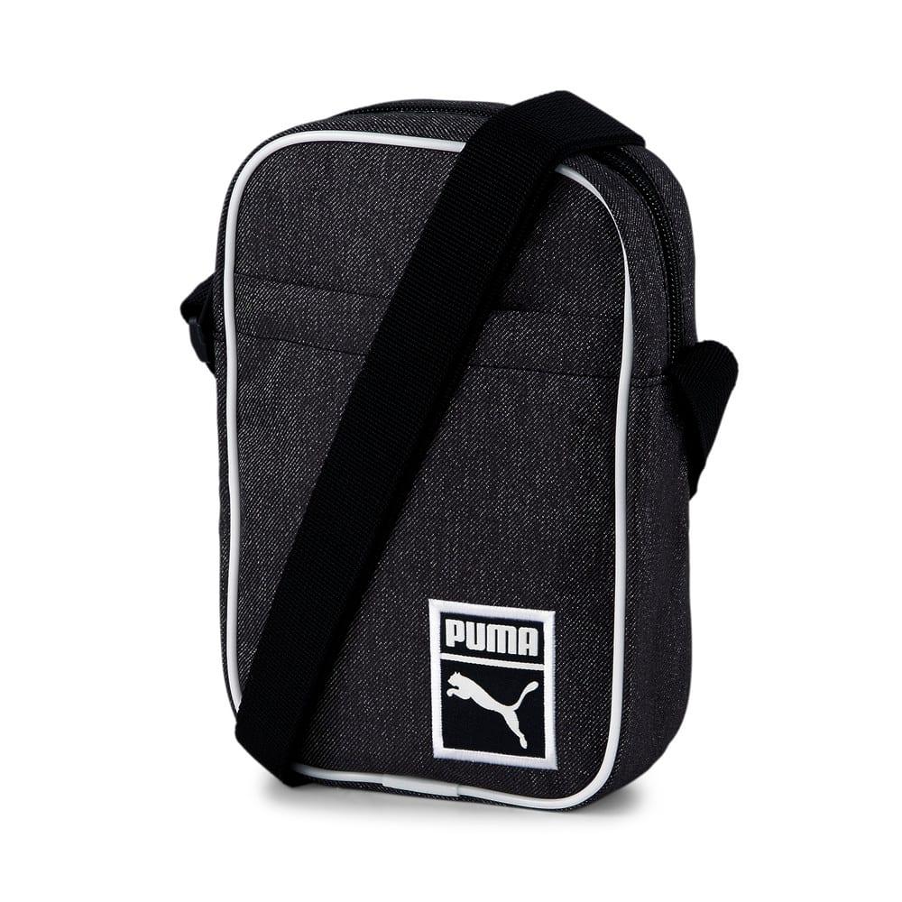 Изображение Puma Сумка Originals Futro Portable Shoulder Bag #1: Puma Black