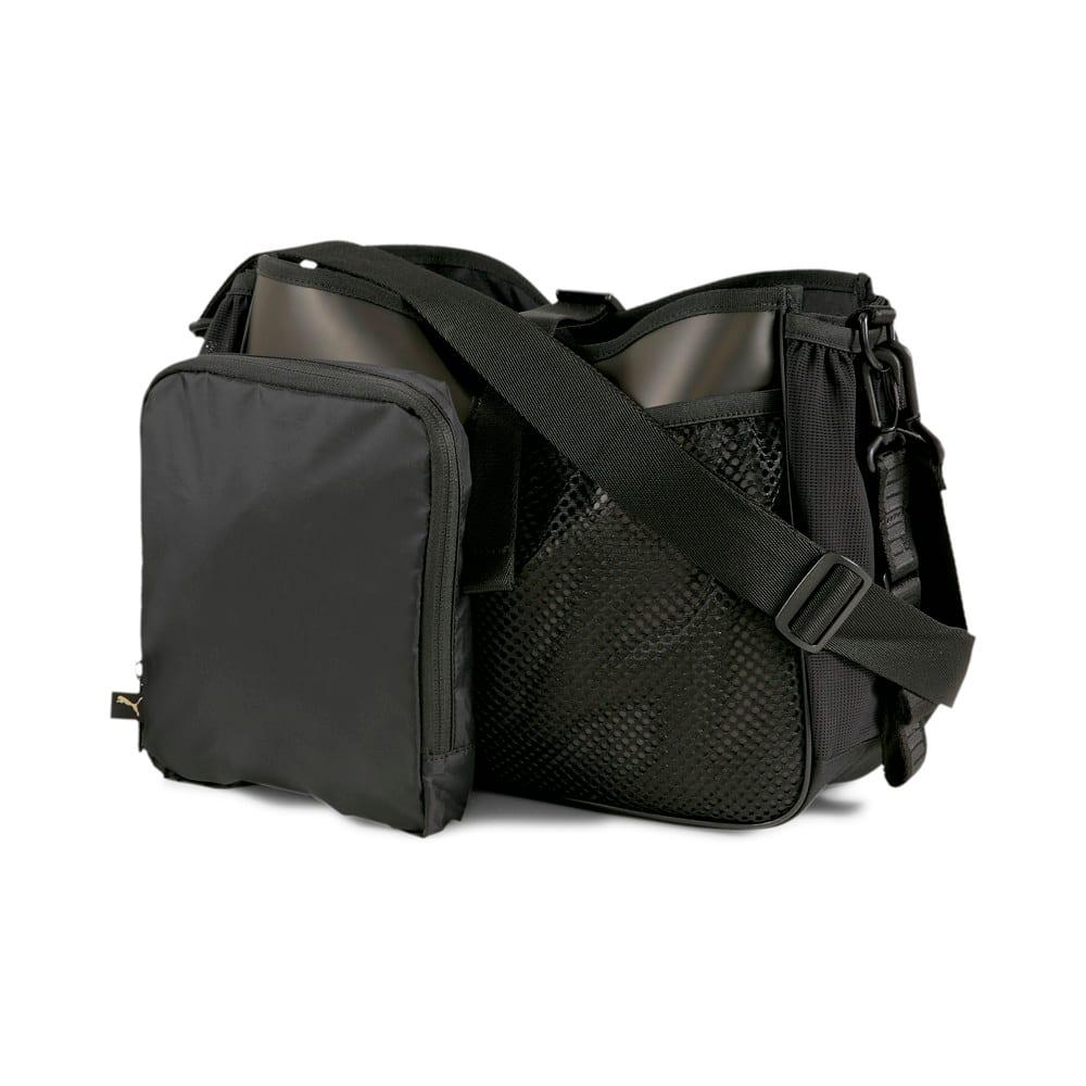 Изображение Puma Сумка Active Organiser Training Grip Bag #2: Puma Black-Bright Gold