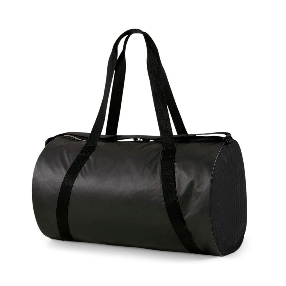 Зображення Puma Сумка Essentials Moto Women's Training Barrel Bag #2: Puma Black-Rose Gold-motopack