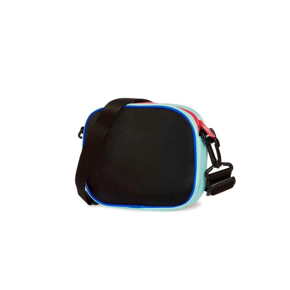 Изображение Puma Сумка Flair Women's Cross Body Bag #2: Puma Black-Eggshell Blue