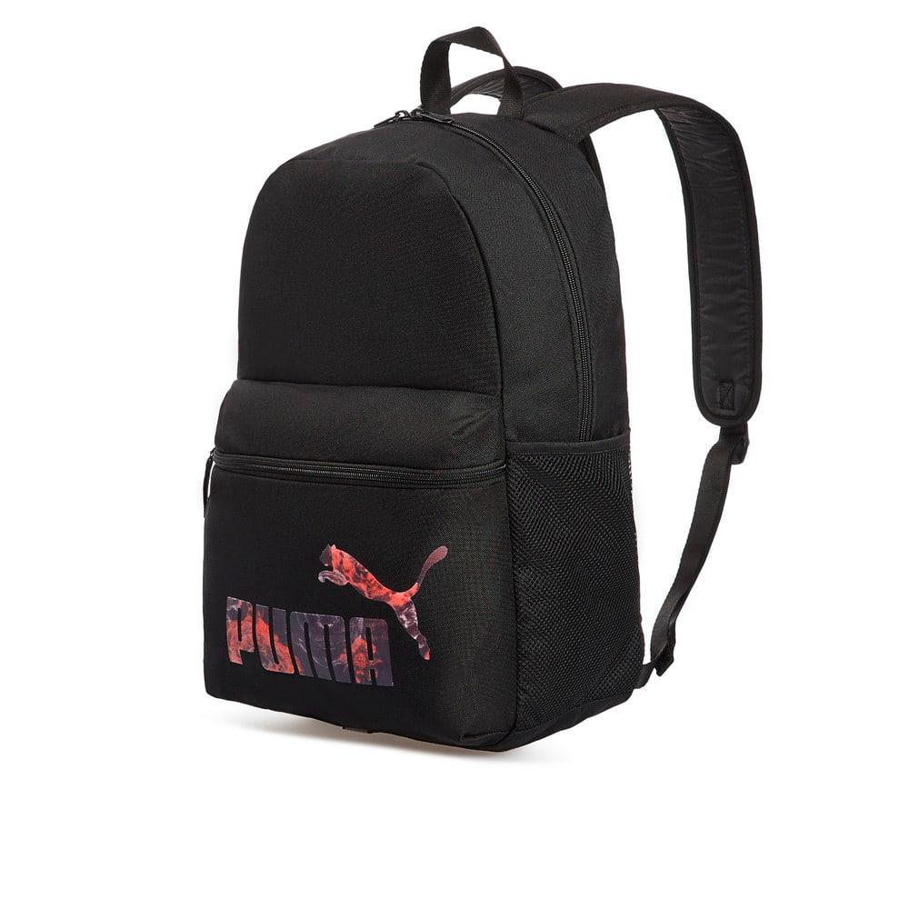 Изображение Puma Рюкзак Floral Logo Women's Backpack #1: Puma Black