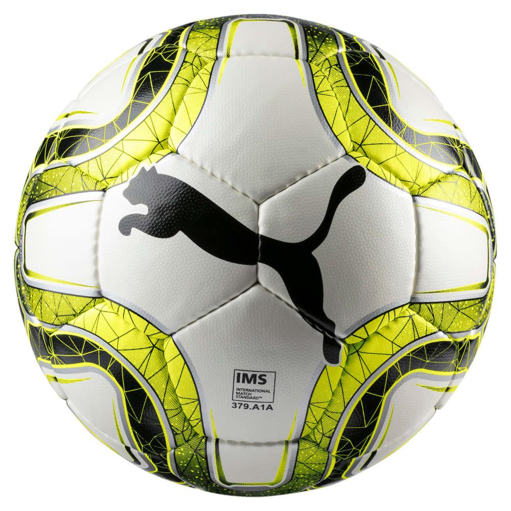 Изображение Puma Футбольный мяч FINAL 4 Club Size 4 Football #1: White-Lemon Tonic-Black