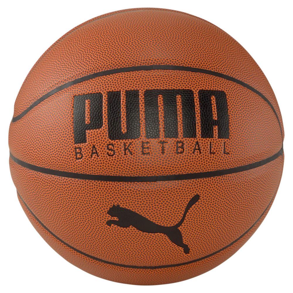 Изображение Puma Баскетбольный мяч PUMA Basketball Top #1: Leather Brown-Puma Black